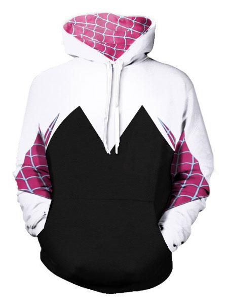 Milanoo Venom Gwen Stacy Halloween Cosplay Hoodie
