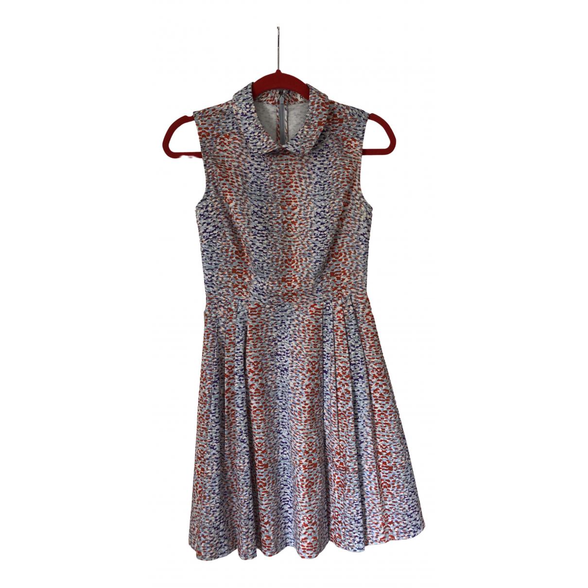 Reiss \N Kleid in Baumwolle