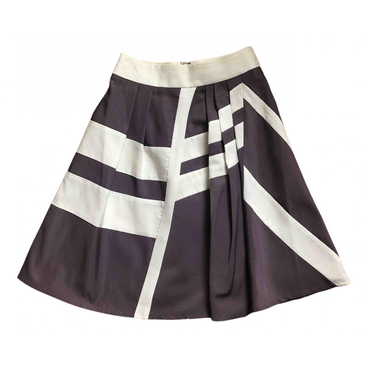 Reiss - Jupe   pour femme en coton - multicolore