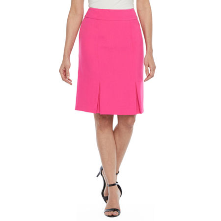 Black Label by Evan-Picone Suit Skirt, 16 , Pink