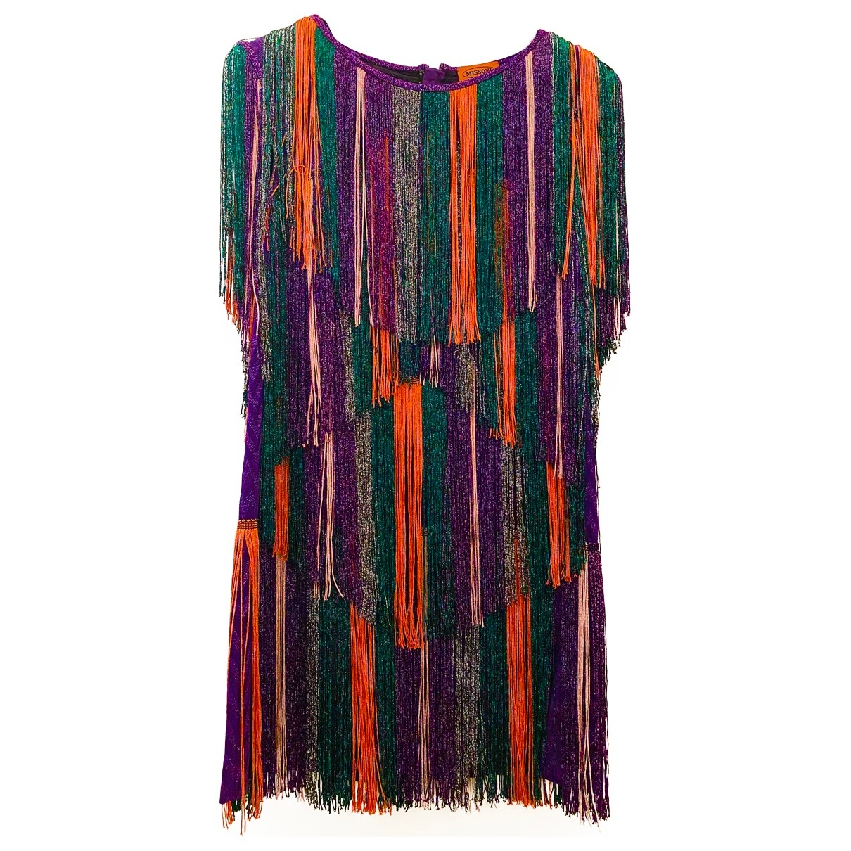 Missoni \N Multicolour Cotton dress for Women 40 IT