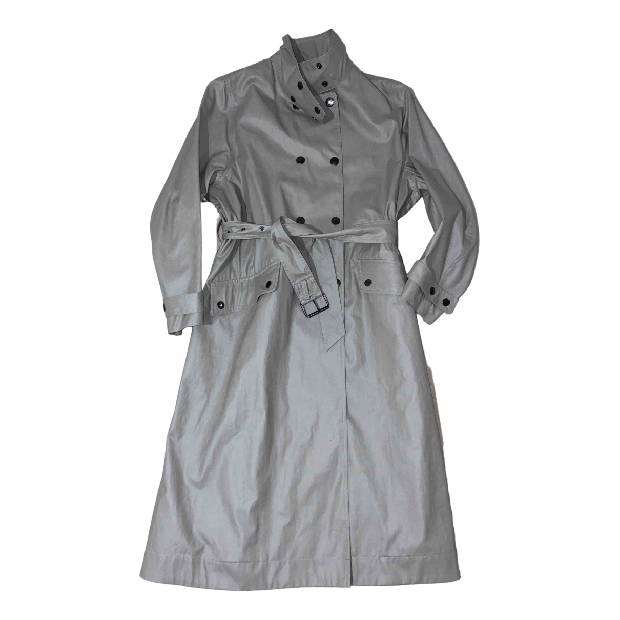 Isabel Marant \N Grey Cotton coat for Women 1 0-5