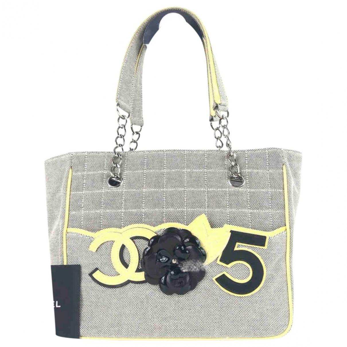 Chanel \N Grey Tweed handbag for Women \N