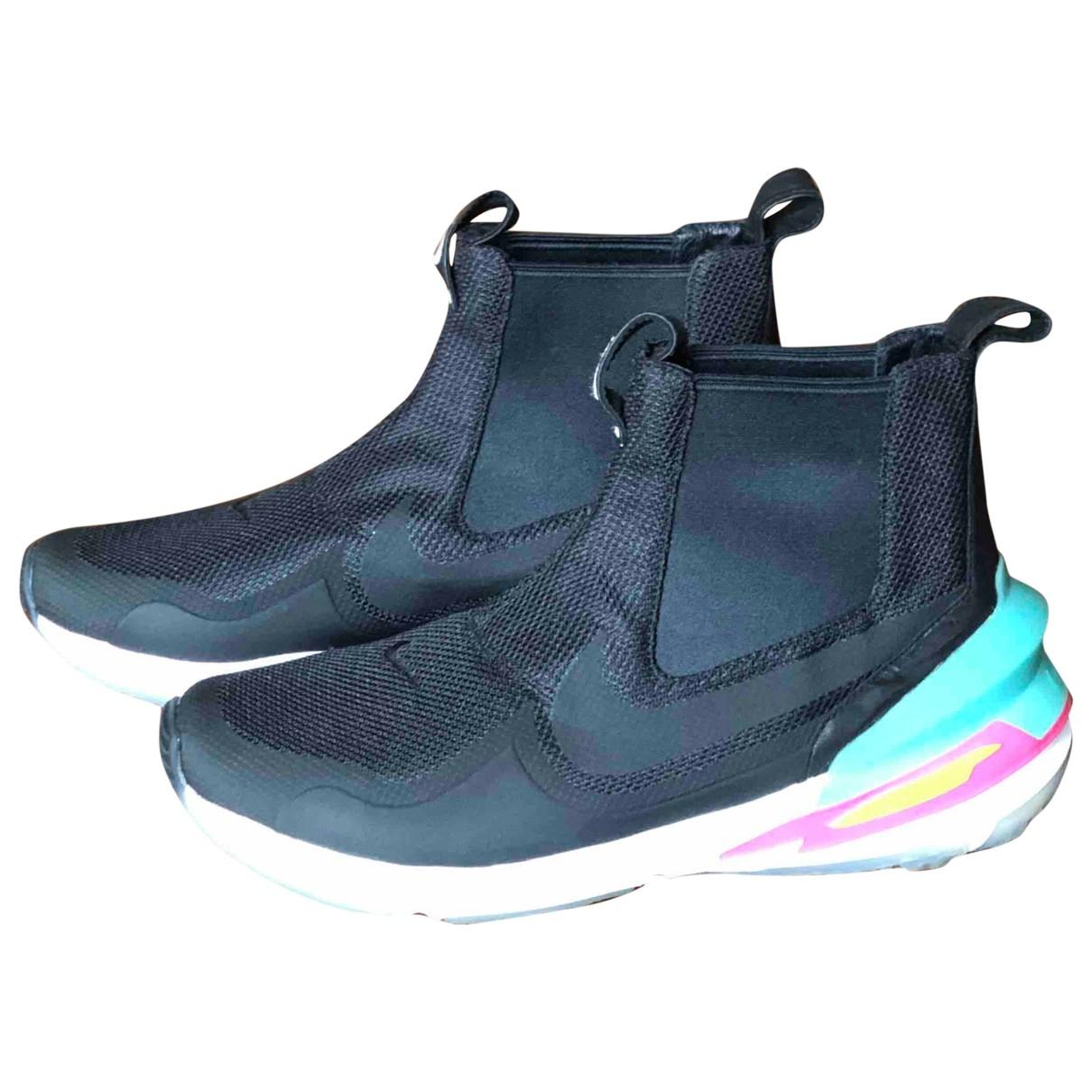 Nike By Riccardo Tisci - Baskets   pour homme en toile - noir
