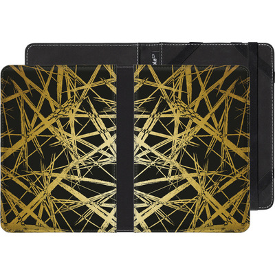 Amazon Kindle Touch eBook Reader Huelle - Strokes Gold Black von Khristian Howell