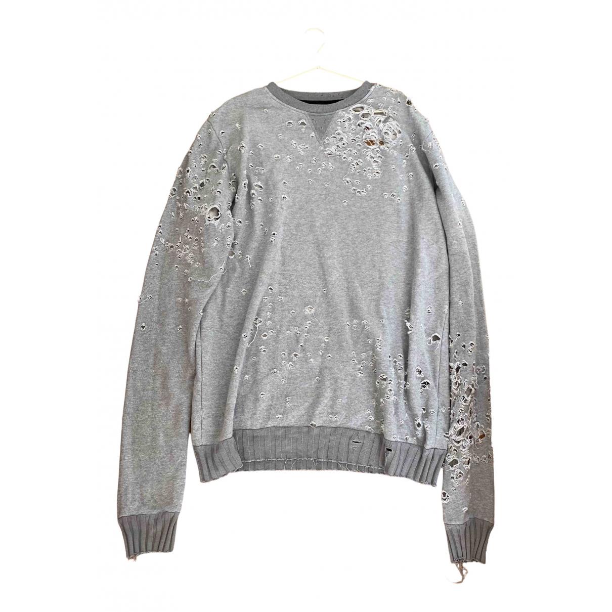 Amiri \N Grey Cotton Knitwear for Women 42 FR
