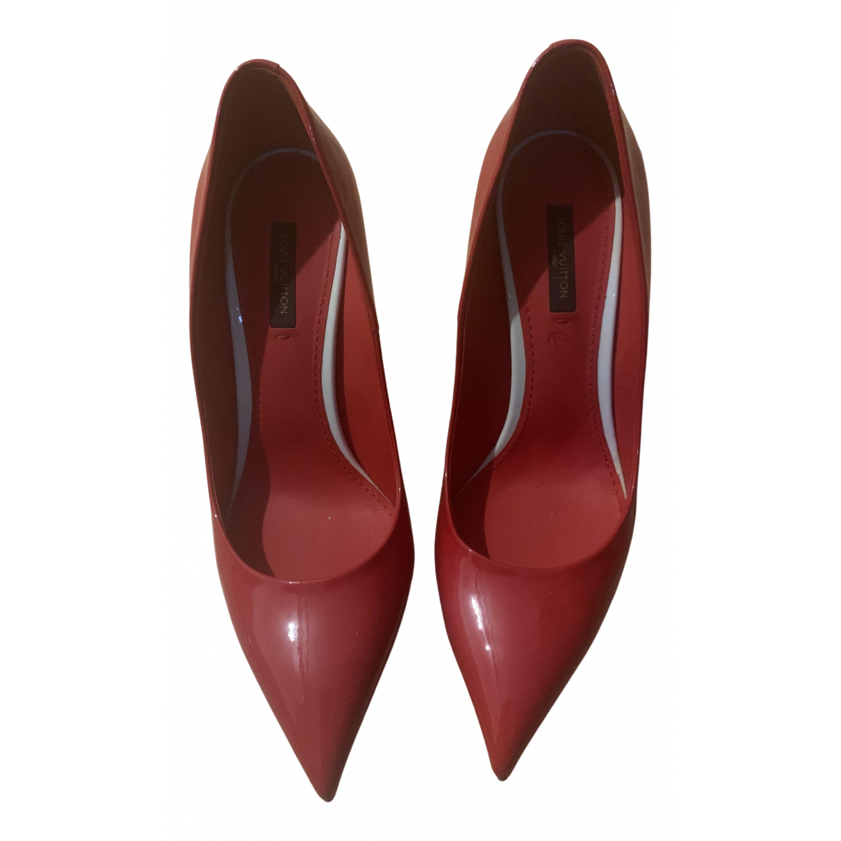 Louis Vuitton \N Red Patent leather Heels for Women 39 EU