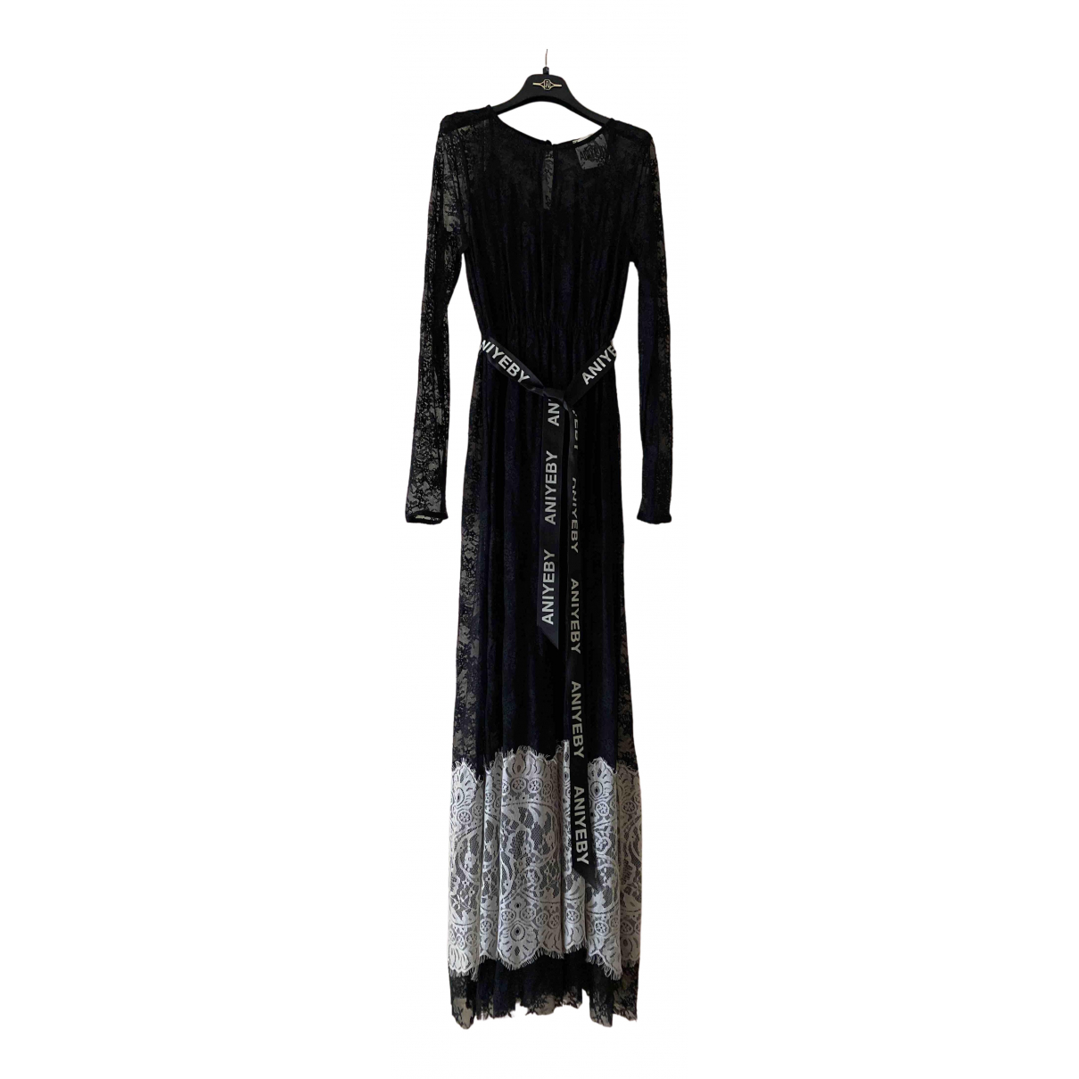 Aniye By - Robe   pour femme en dentelle - noir