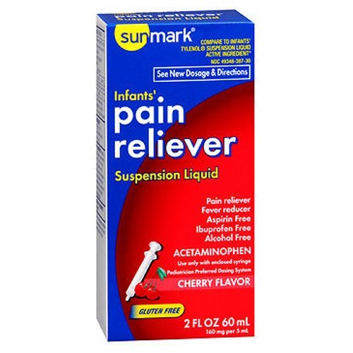 Sunmark Infants' Pain Reliever 2 oz by Sunmark