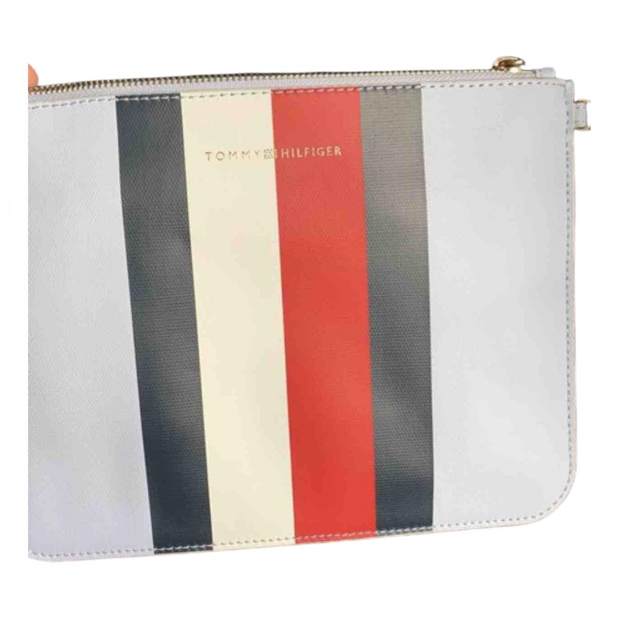Tommy Hilfiger \N Blue Leather Clutch bag for Women \N