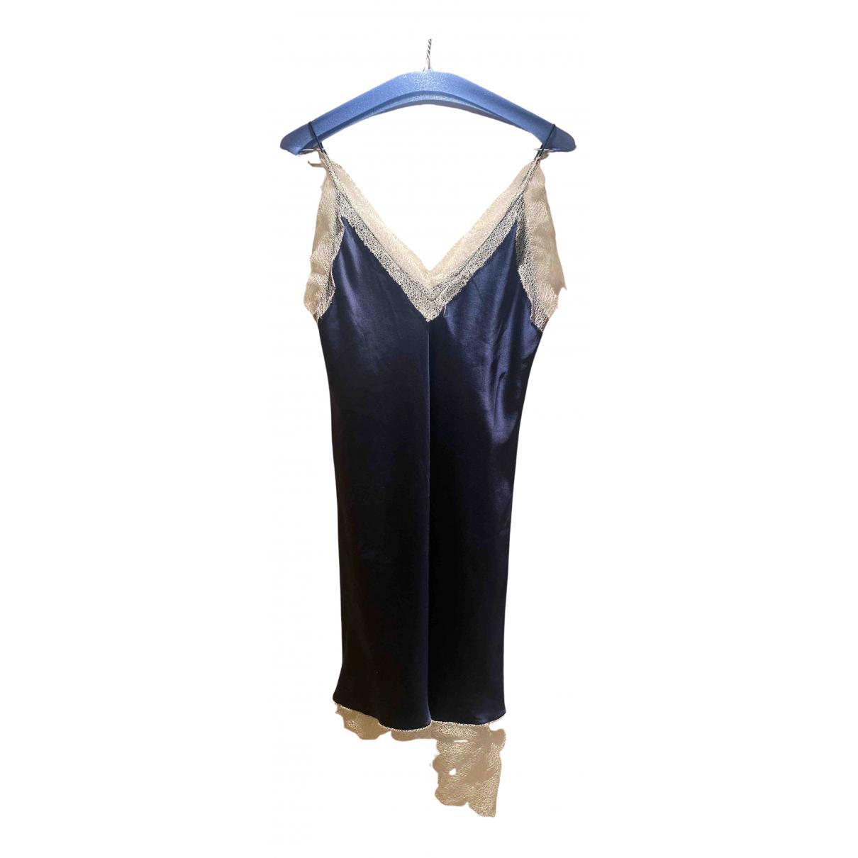 Mini vestido de Seda Walk Of Shame