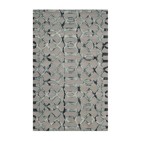 Safavieh Dip Dye Collection Diamond Geometric Area Rug, One Size , Multiple Colors