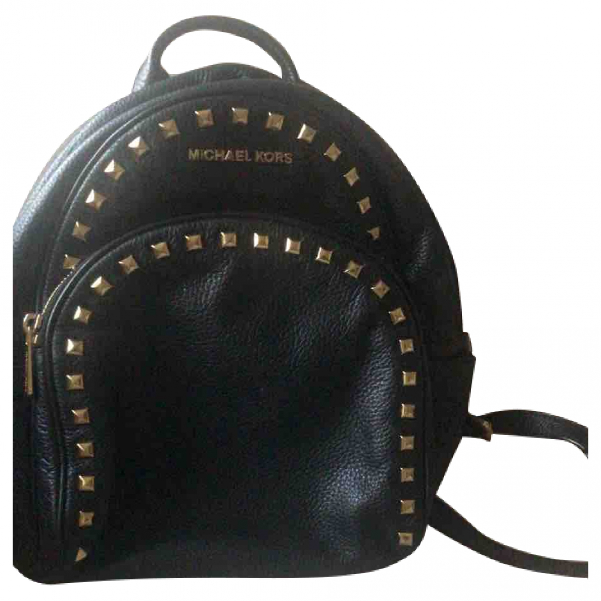 Michael Kors \N Black Leather backpack for Women \N