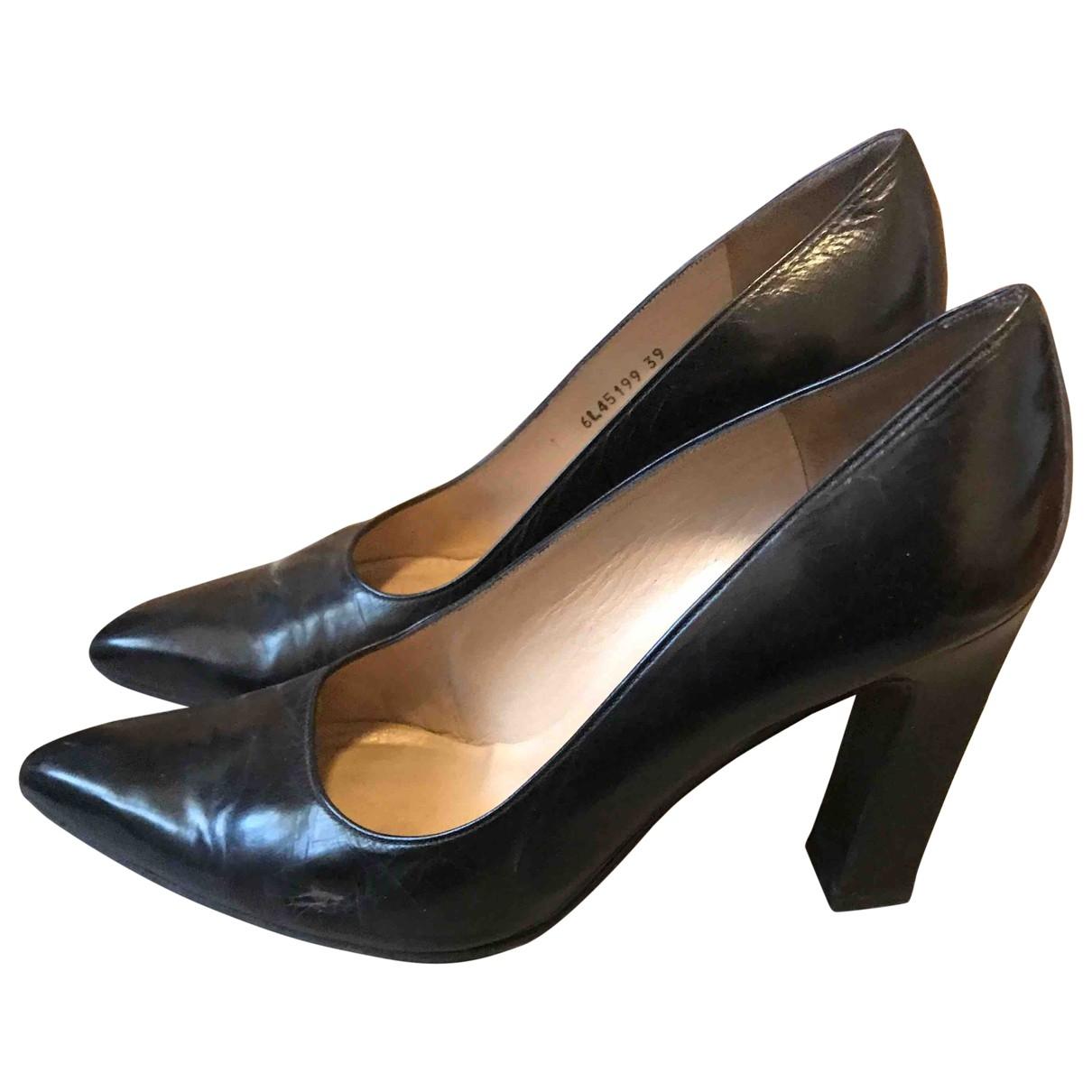 Stuart Weitzman - Escarpins   pour femme en cuir - noir