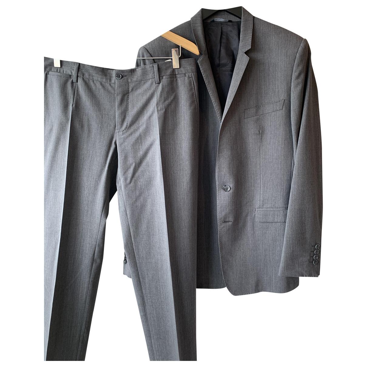 Dolce & Gabbana - Costumes   pour homme en laine - gris
