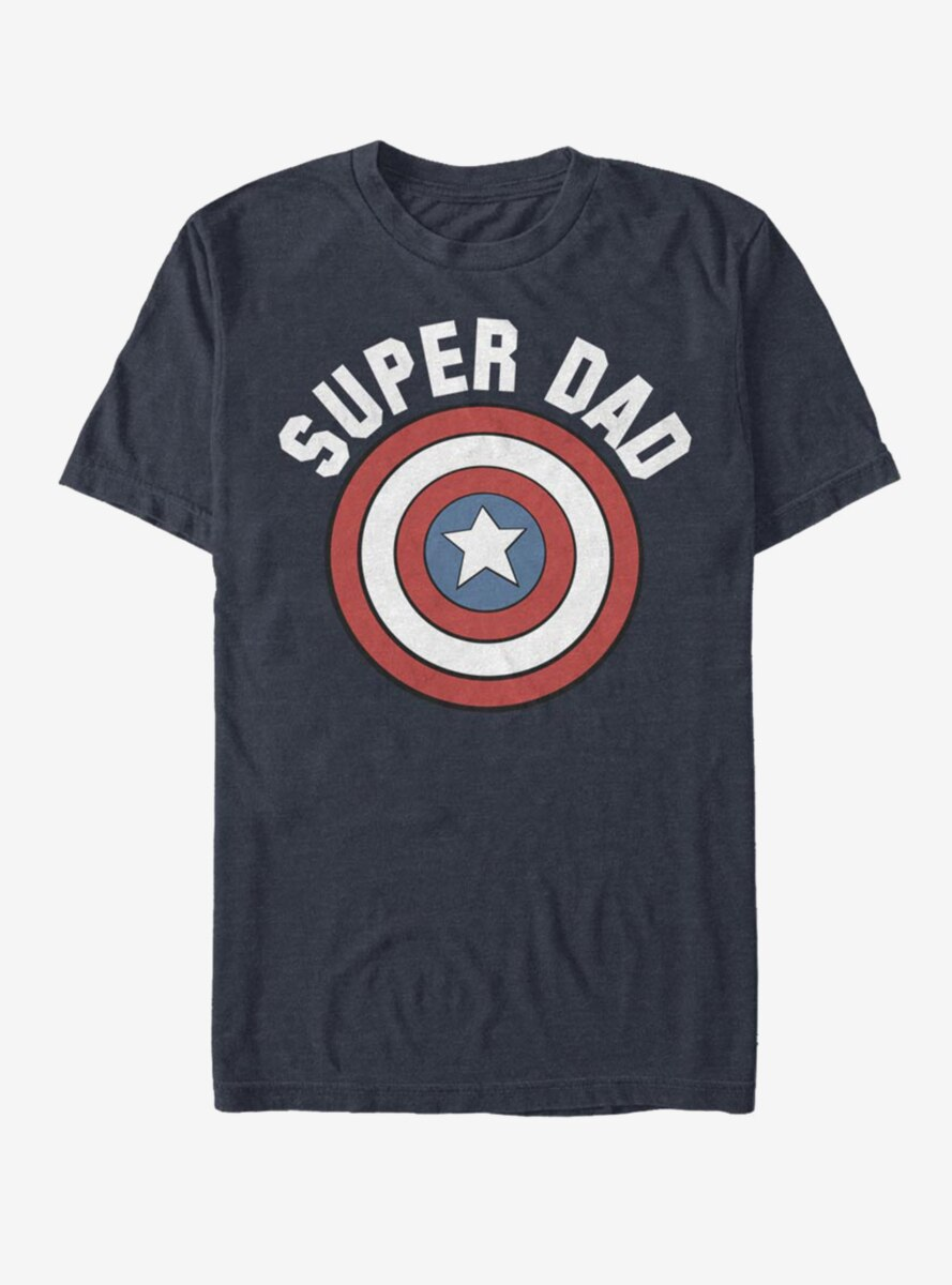 Marvel Captain America Super Dad T-Shirt