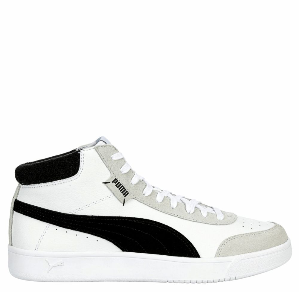 Puma Mens Court Legend Mid Shoes Sneakers