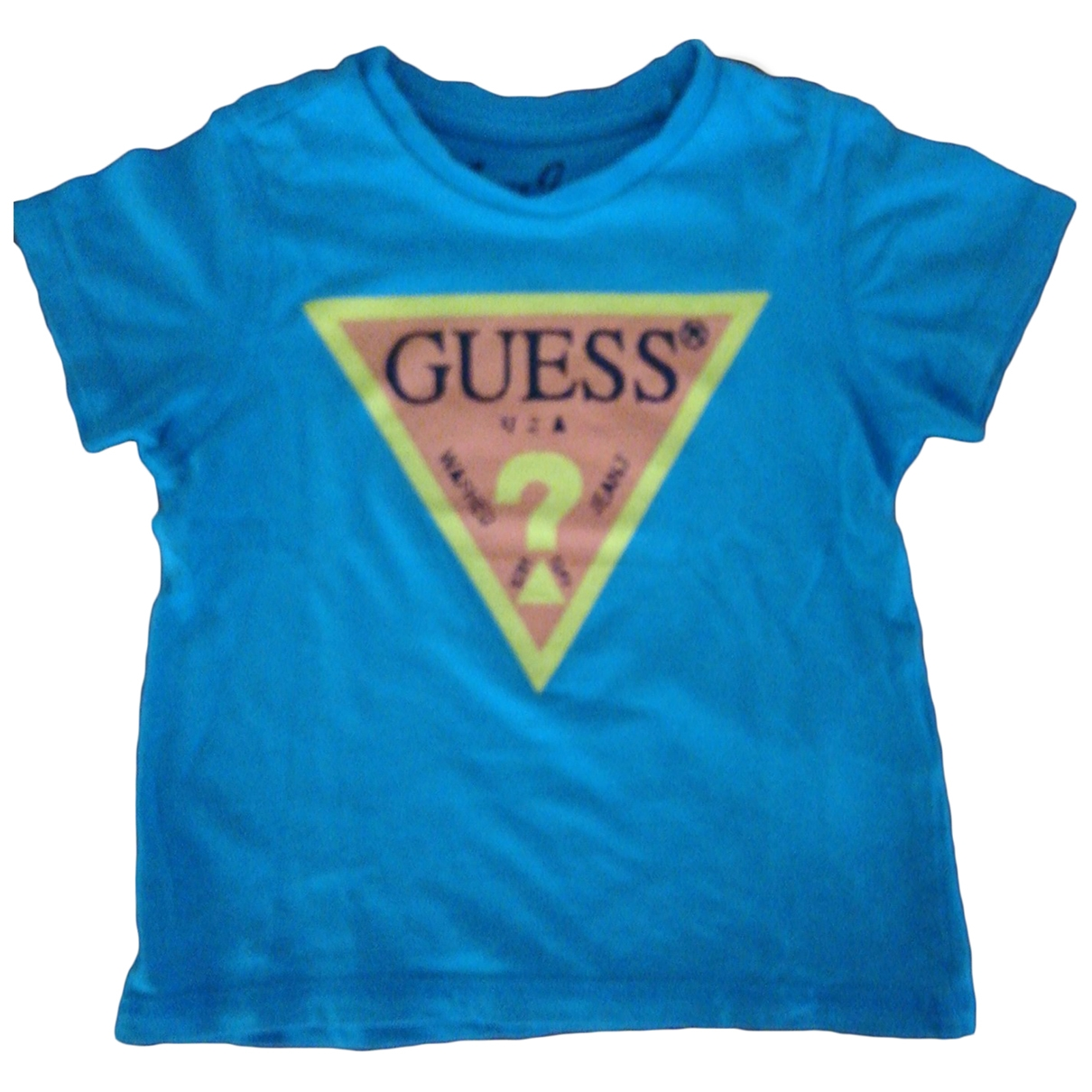 Guess \N Turquoise Cotton  top for Kids 2 years - up to 86cm FR