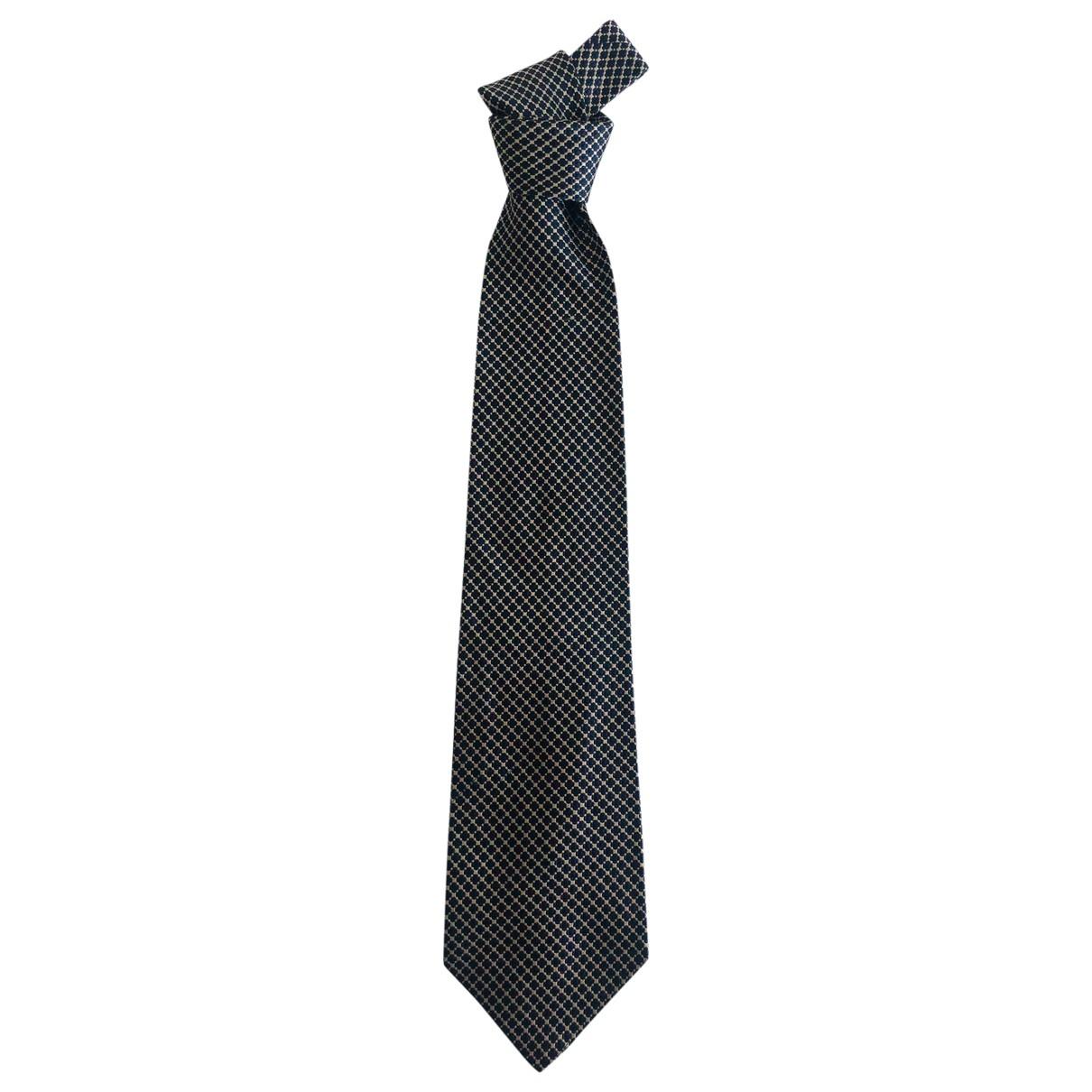 Gianfranco Ferre \N Krawatten in  Blau Seide