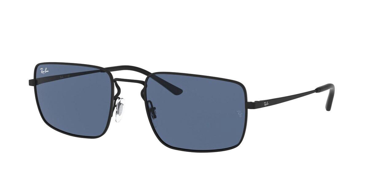 Ray-Ban RB3669 901480 Mens Sunglasses Black Size 55