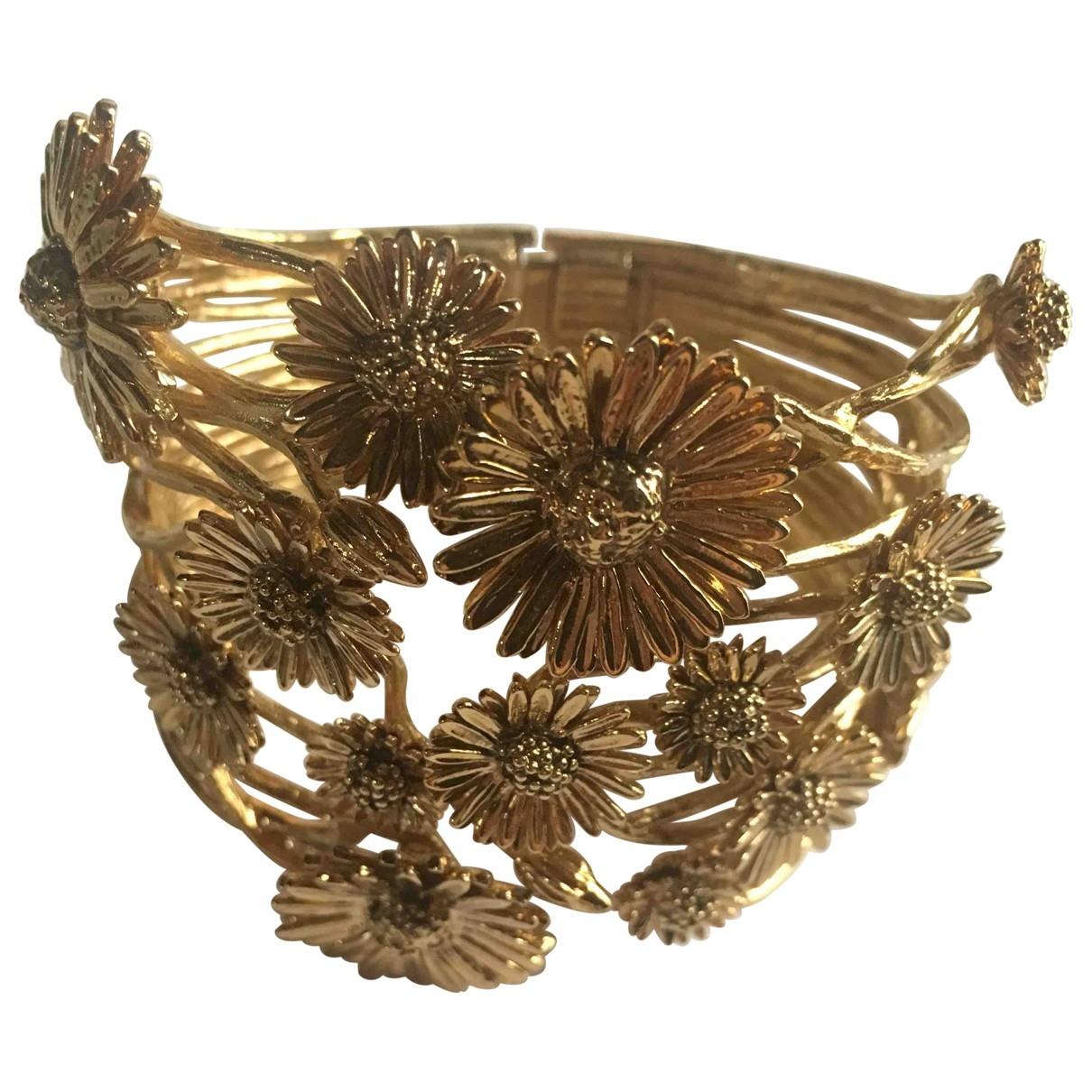Aurelie Bidermann \N Armband in  Gold Vergoldet