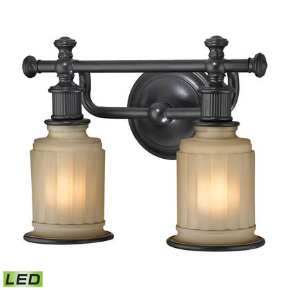 52011/2-LED Acadia Collection 2 Light bath in Oil Rubbed Bronze -