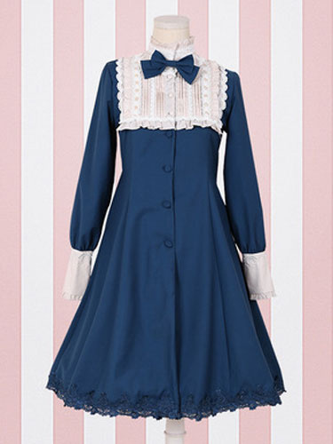 Milanoo Classic Lolita One Piece Dress Gothic Lolita Op
