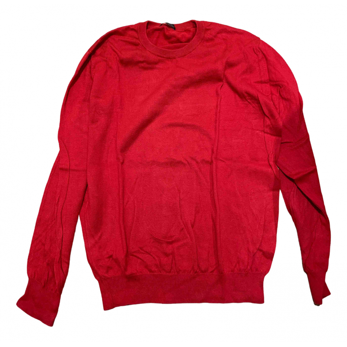 Ballantyne - Pulls.Gilets.Sweats   pour homme en coton - rouge