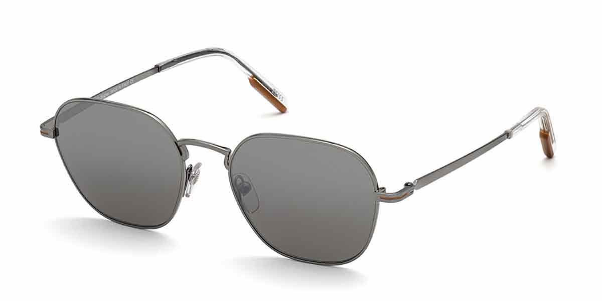 Ermenegildo Zegna EZ0174 08A Mens Sunglasses Grey Size 53