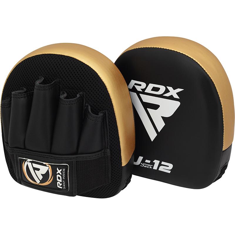 RDX J12 Mitaines pour Enfants d'or Cuir PU