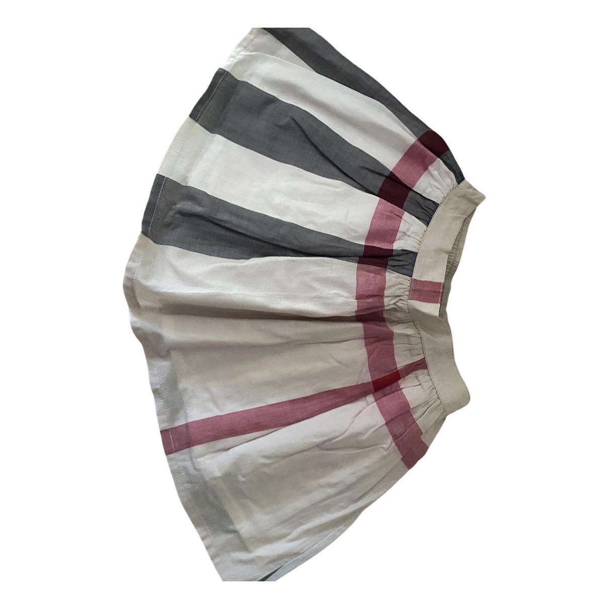Burberry - Jupe   pour enfant en coton - multicolore