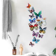 1set Luminous Butterfly Wall Decor