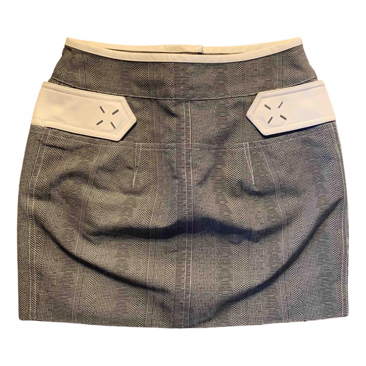 Alexander Wang \N White Wool skirt for Women 4 US