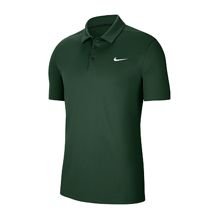 Nike Big and Tall Mens Short Sleeve Polo Shirt, 3x-large Tall , Green