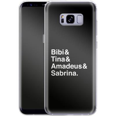 Samsung Galaxy S8 Plus Silikon Handyhuelle - Bibi&Tina&Amadeus&Sabrina von Bibi & Tina