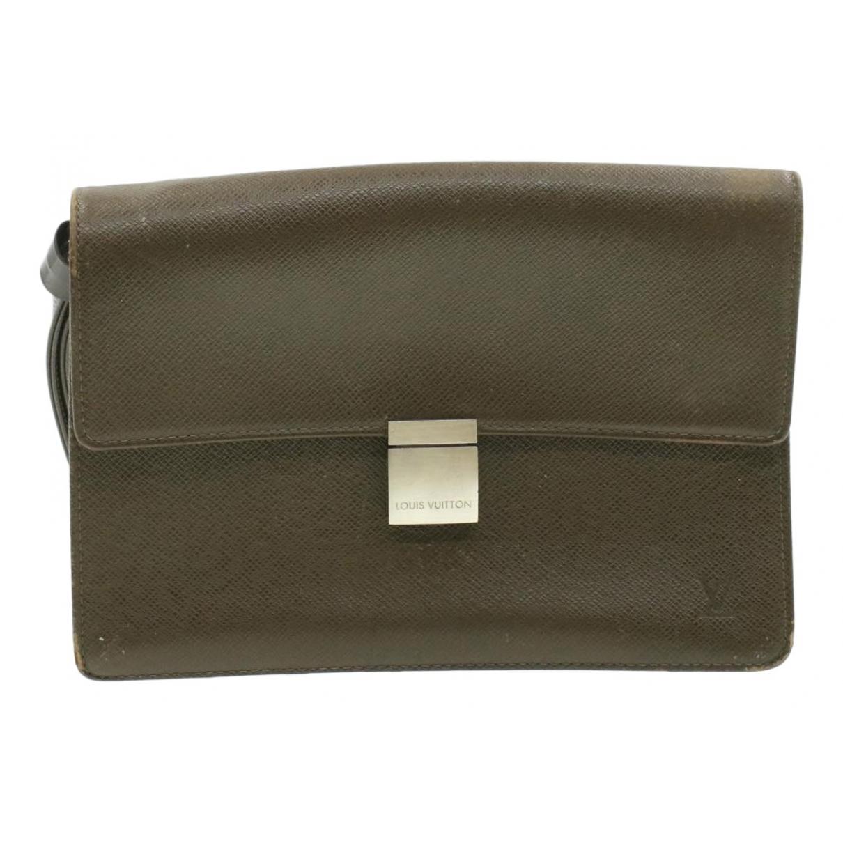 Louis Vuitton - Sac   pour homme en cuir - marron