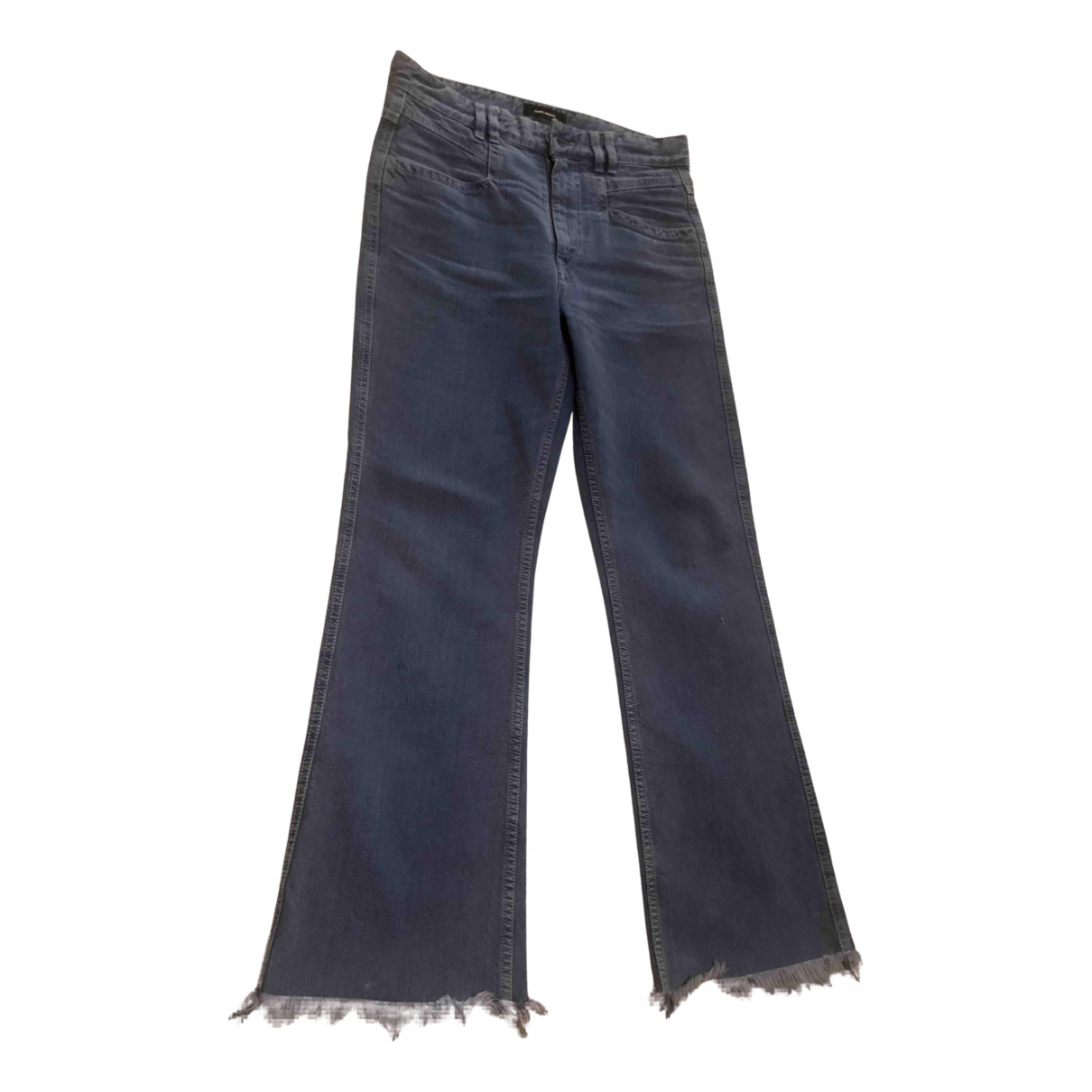 Isabel Marant N Blue Cotton Jeans for Women 36 FR