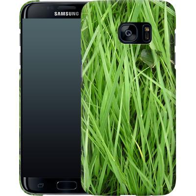 Samsung Galaxy S7 Edge Smartphone Huelle - Grass von caseable Designs
