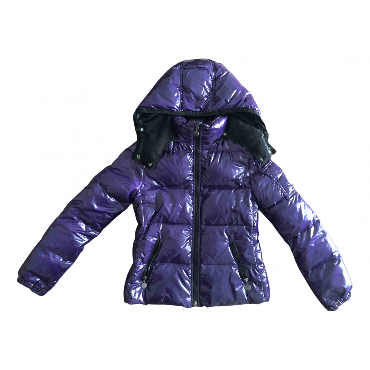 Moncler Hood Purple jacket & coat for Kids 12 years - XS FR