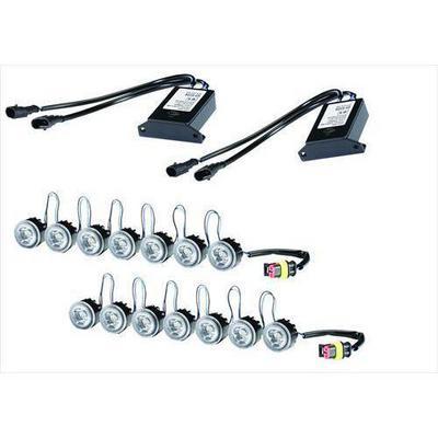 Hella LEDay Flex-7 LED Kit with Position Lamp - 010458851