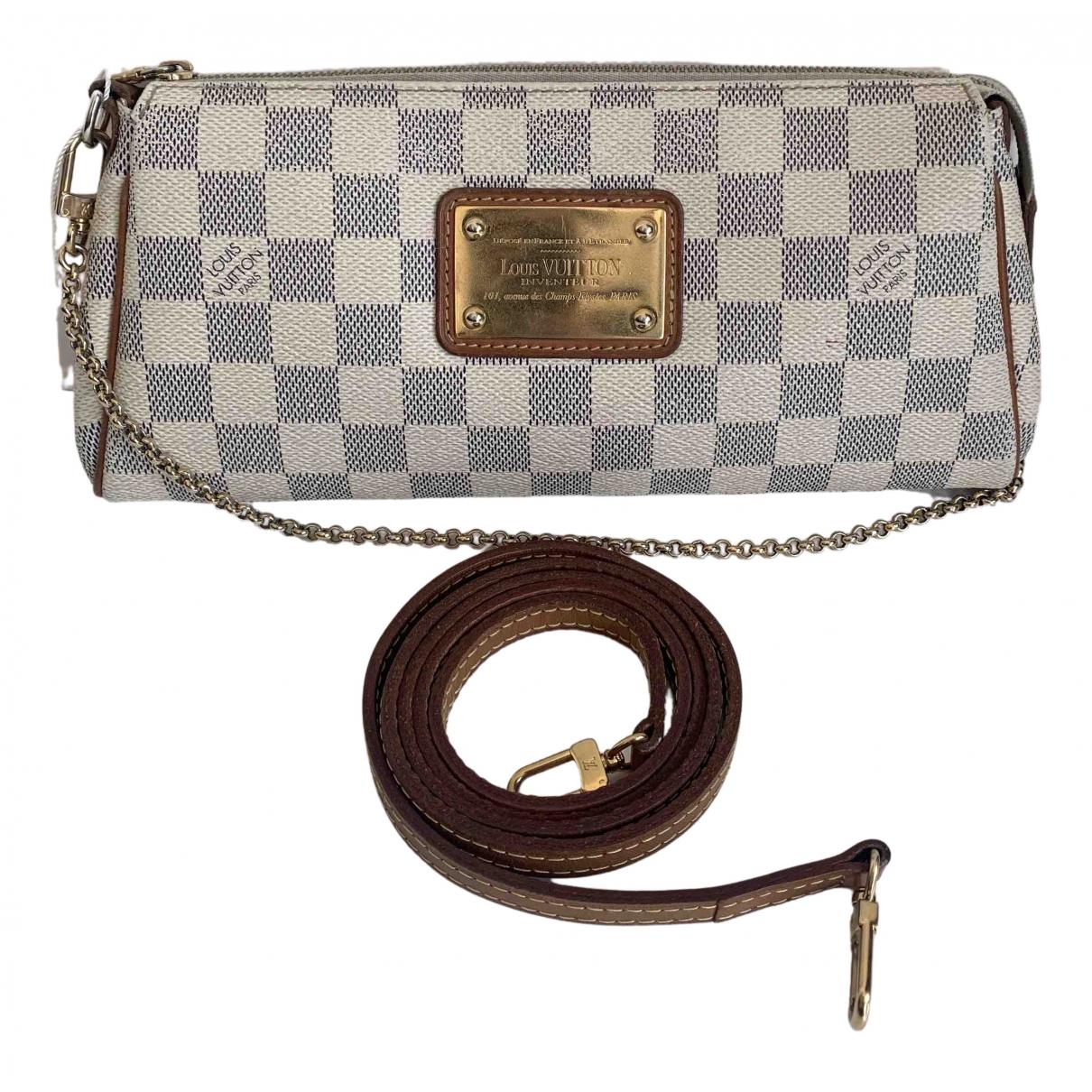 Louis Vuitton Eva Handtasche in  Weiss Leder