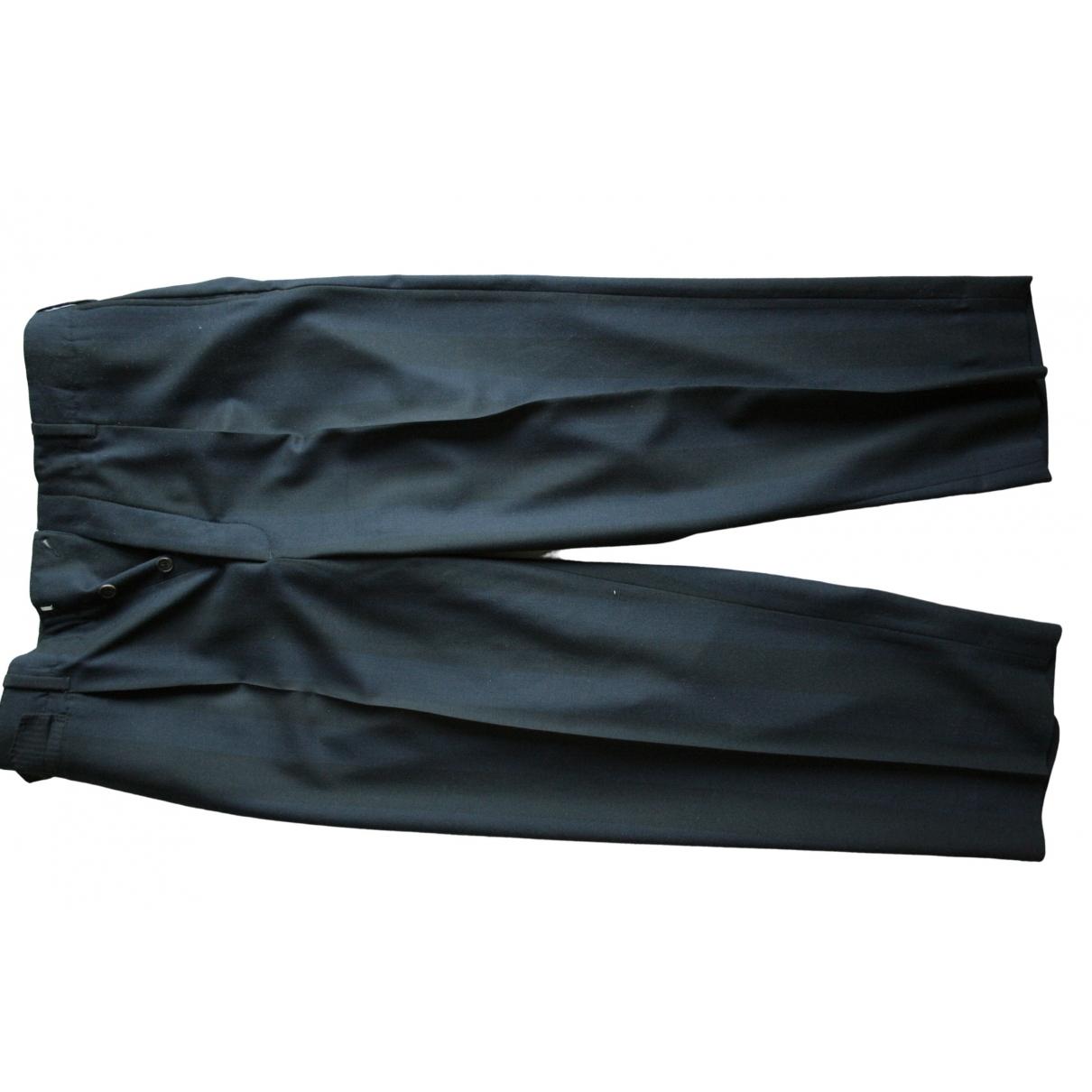Acne Studios \N Black Wool Trousers for Men 50 IT