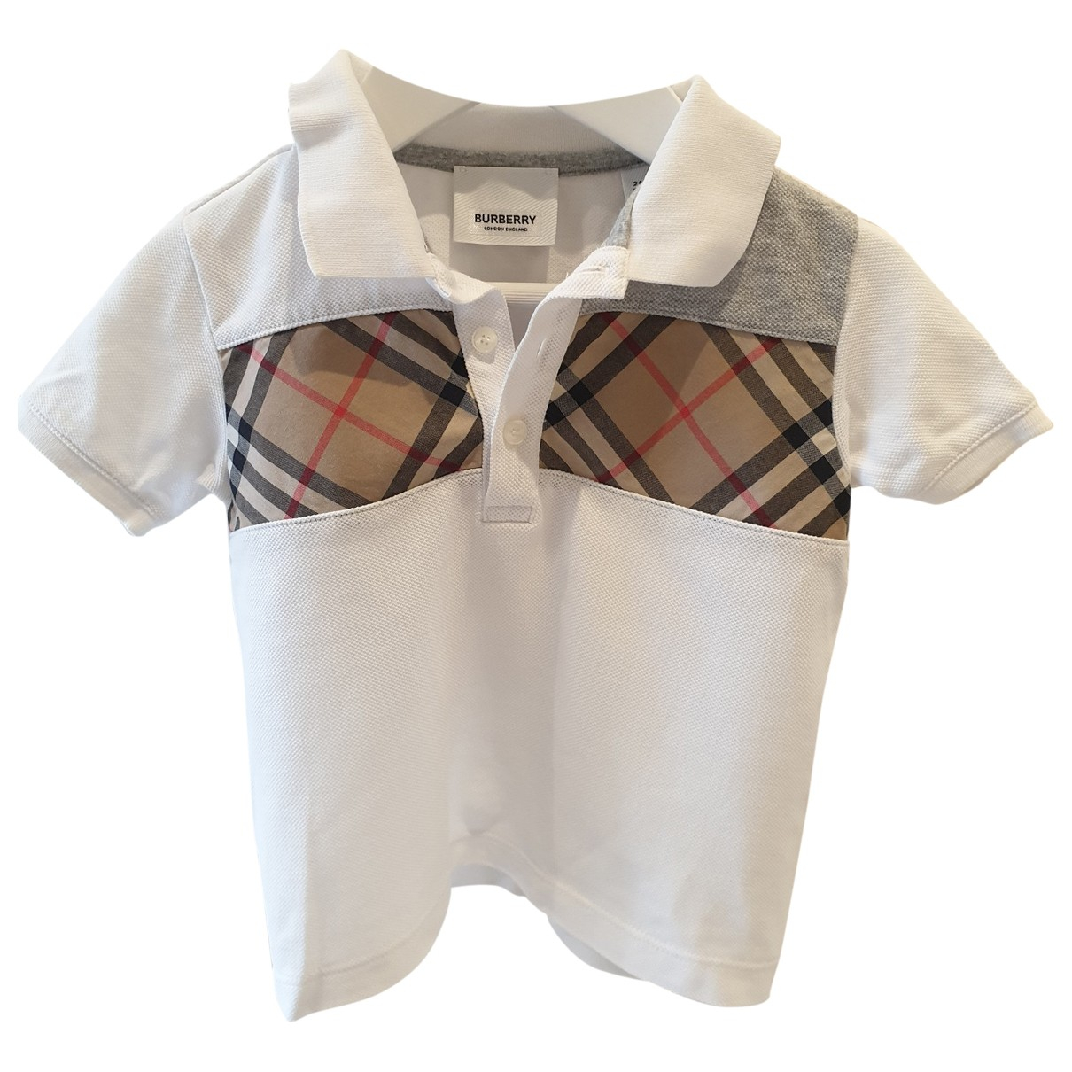 Burberry \N White Cotton  top for Kids 2 years - until 34 inches UK
