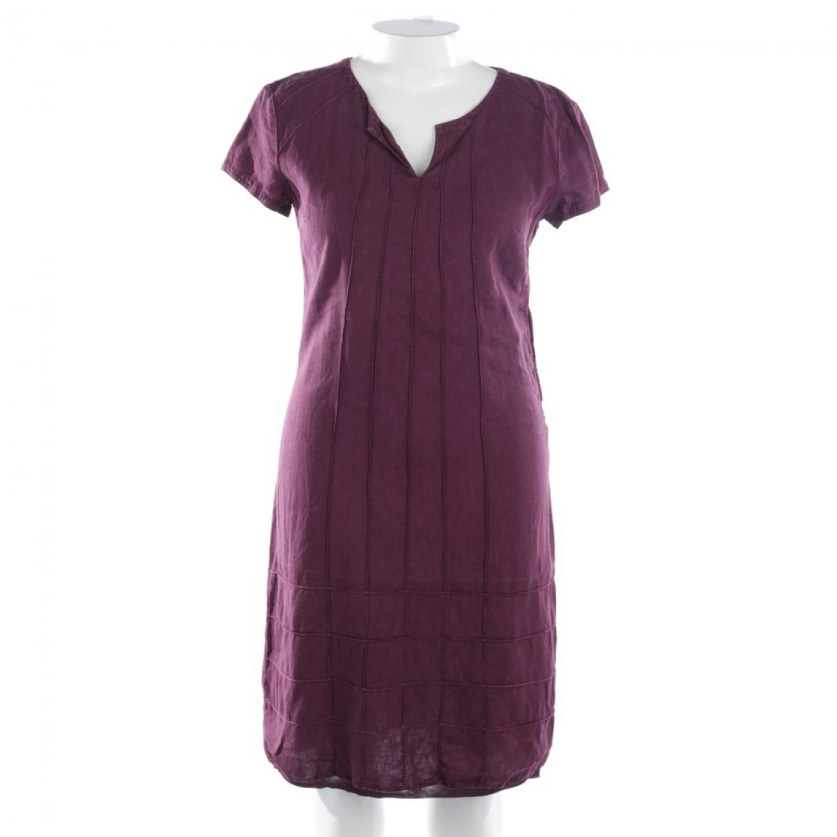 Etro \N Kleid in  Lila Leinen