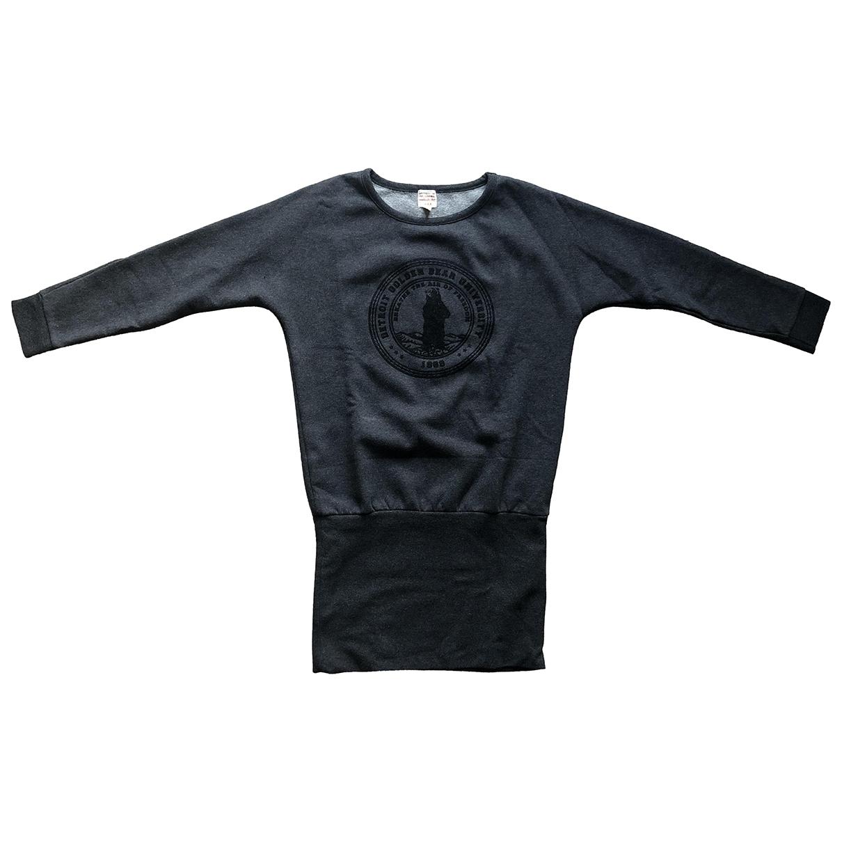 Swildens - Robe    pour enfant en coton - anthracite
