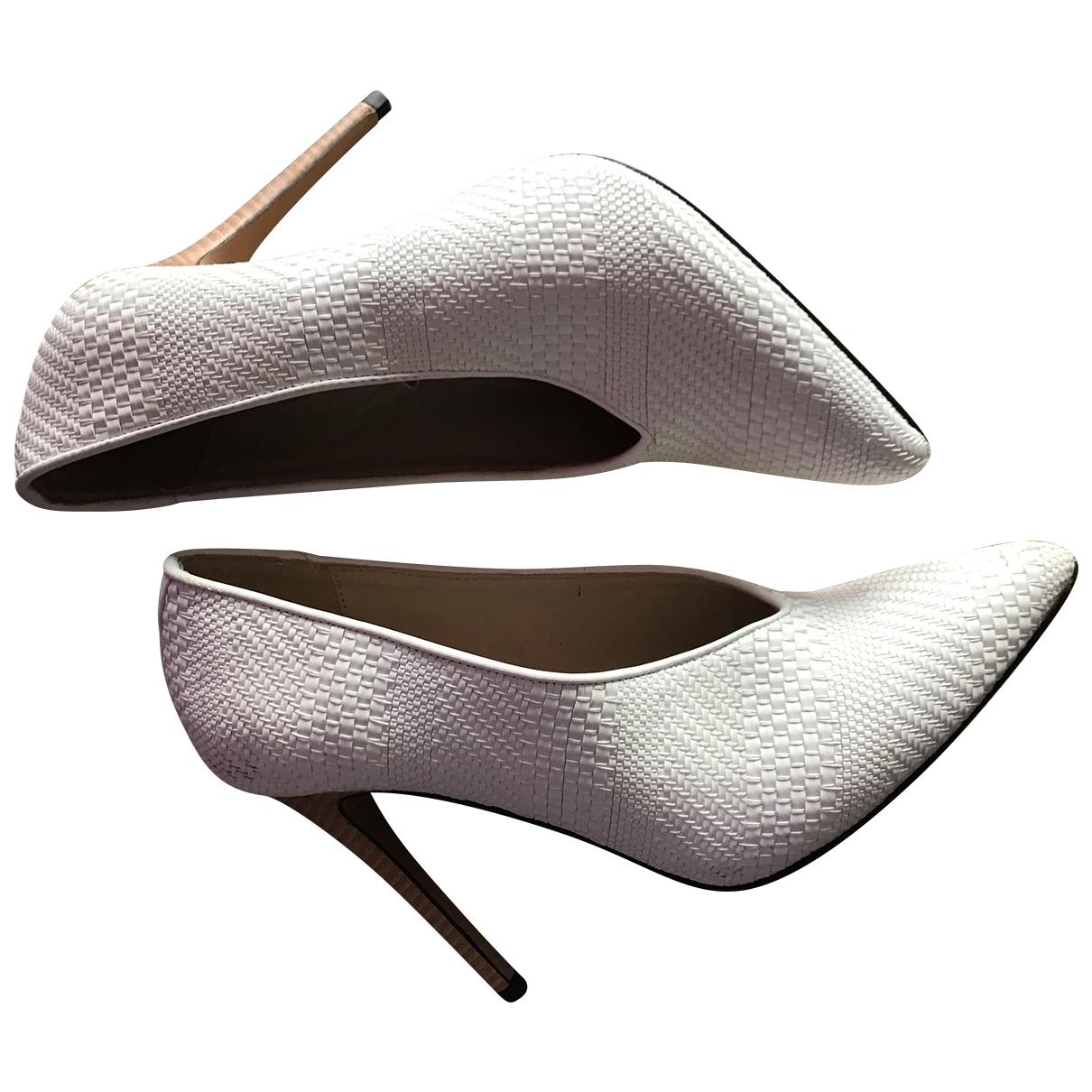 - Escarpins   pour femme en caoutchouc - beige