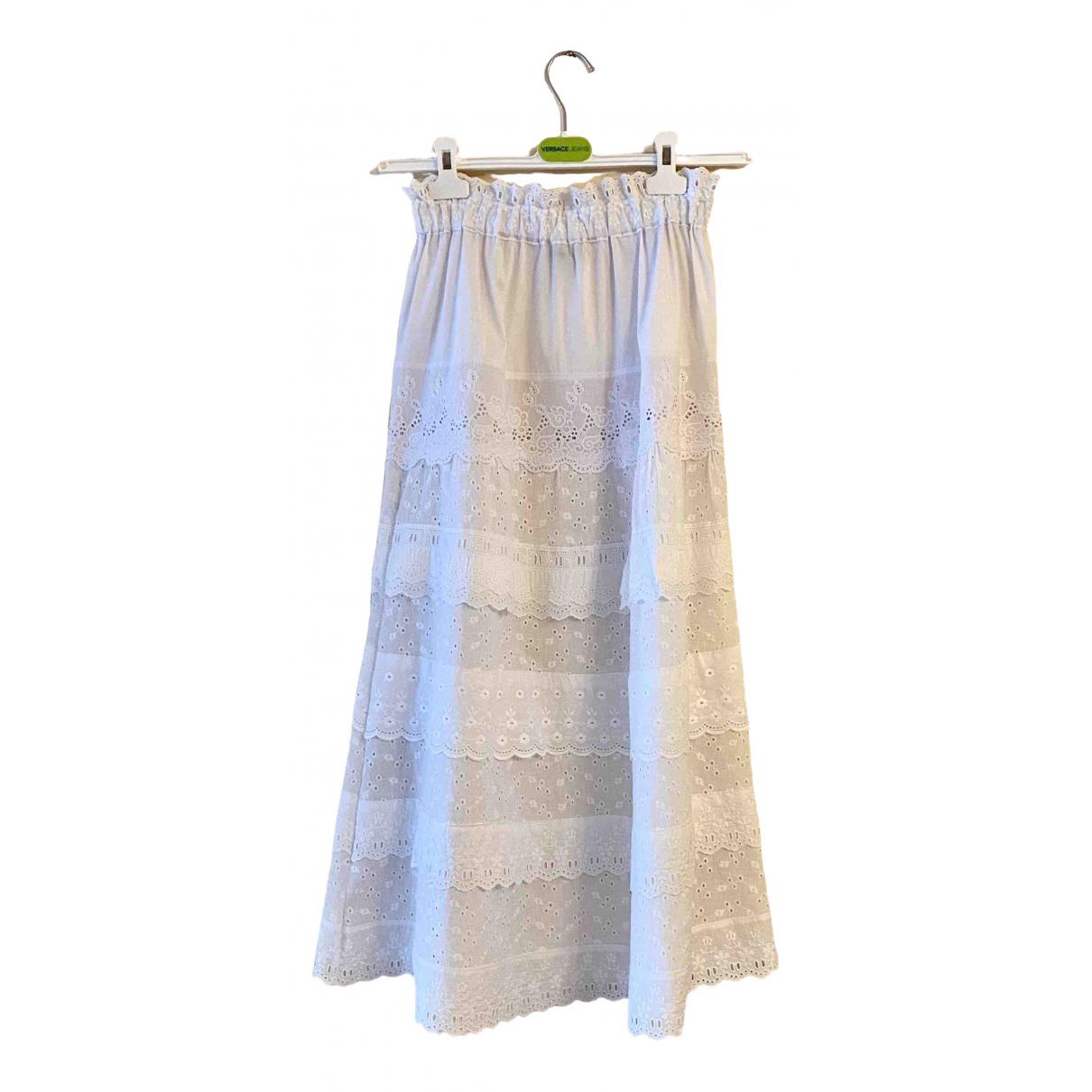 Versace Jean - Jupe   pour femme en coton - blanc