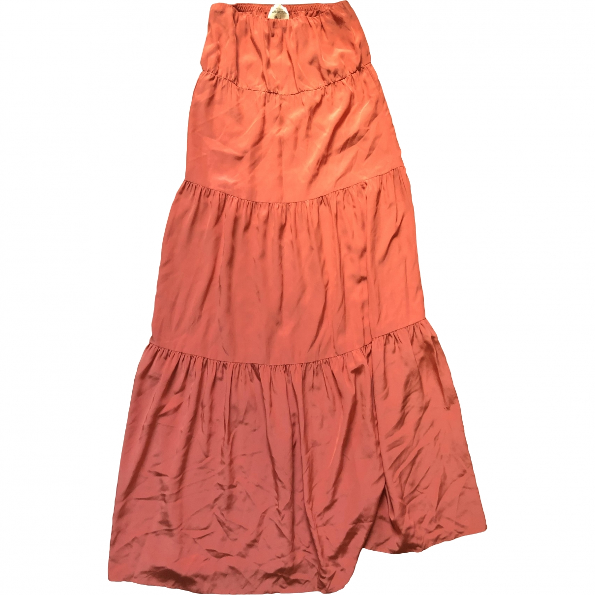 Semicouture \N Orange Silk dress for Women 44 IT