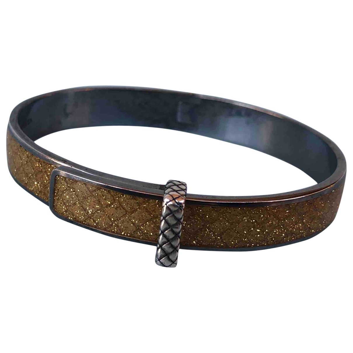 Bottega Veneta \N Armband in  Gold Silber