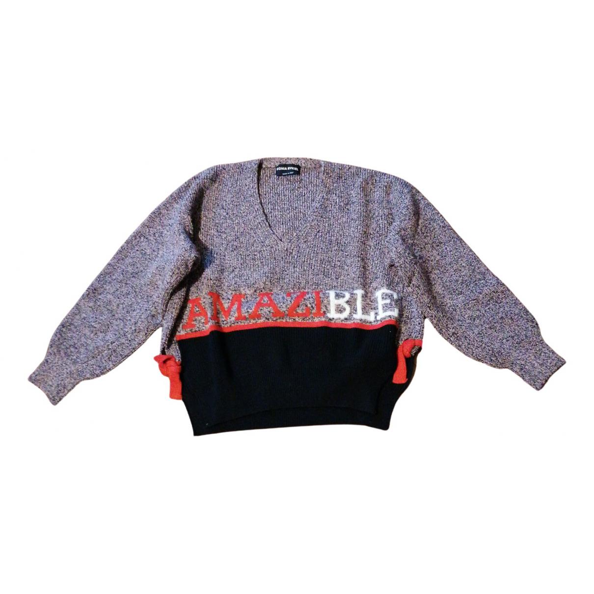 Sonia Rykiel - Pull   pour femme en laine - multicolore